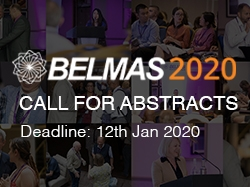 Call for Abstracts: BELMAS Annual Conference 2020