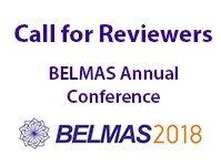 Call for Volunteer Reviewers: BELMAS Annual Conference 2018