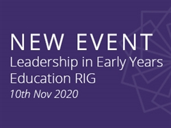 Early Years Leadership for a Post-Covid World