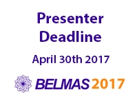 Presenters: Register for the Annual Conference Now!