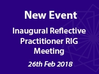 Inaugural Reflective Practitioner RIG Meeting