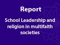 Leading schools for equity and inclusion in multi-faith societies
