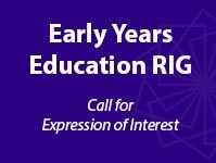 Call for Expression of Interest - Early Years Education RIG