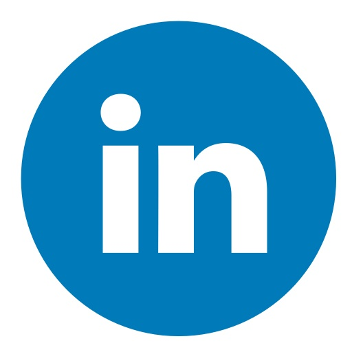 linkedin circle color-512